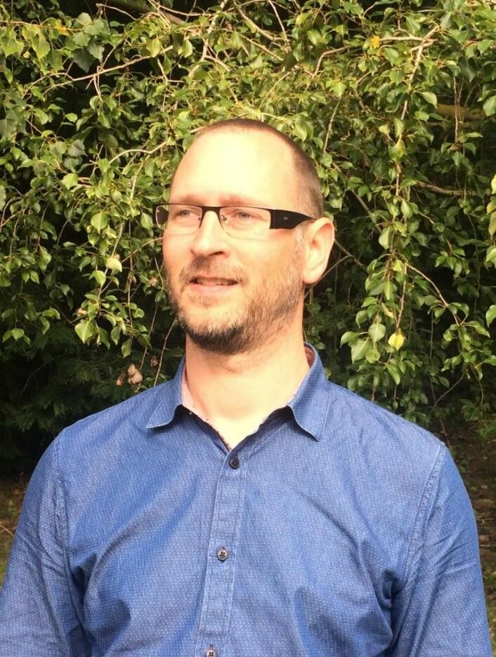 Anders Schomacker.  (Foto: N. J. Korsgaard)