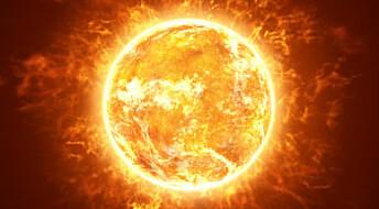 Solen skal lagres