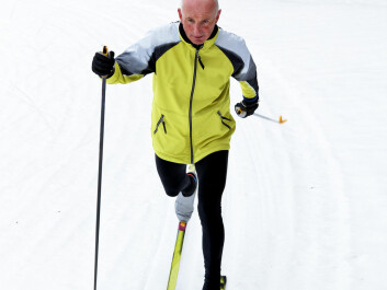 Skiing is an exellent form of exercise. (Photo: Colourbox)