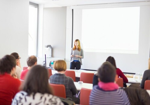 Swapped lectures with video and group sessions