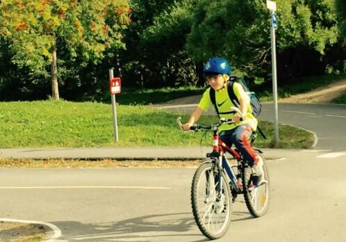 How attentive are children in traffic?