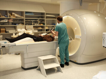 The MR-scan at Rikshospitalet University Hospital was among the methods used in the study. (Photo: Terje Heiestad/ UiO.)