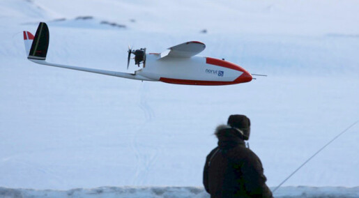 Forskere vil ha ubemannede fly til skredovervåking