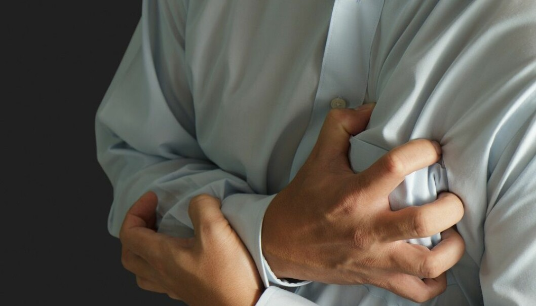 Anxious men have 78 per cent higher risk of heart attack than others. (Photo: Colourbox)