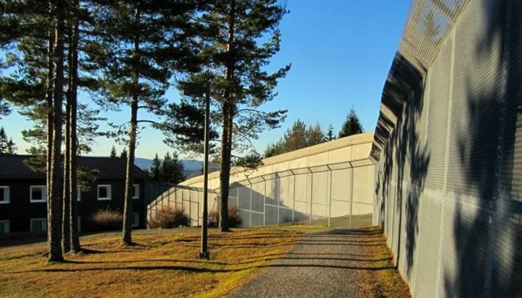 Behind the walls of Kongsvinger prison, many Romanians await sentencing. (Photo: T. Ugelvik)