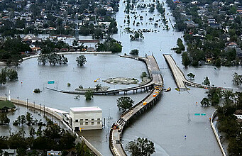 Gaming technology for calculating floods