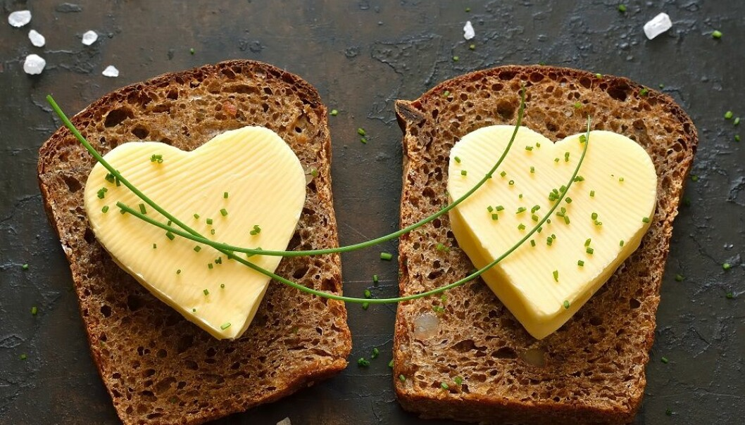 Research conducted at the University of Bergen shows that saturated fat actually could be good for you. The quality of the food, whether it's highly processed or not, could have a larger impact on your health. (Illustrative photo: Colourbox)