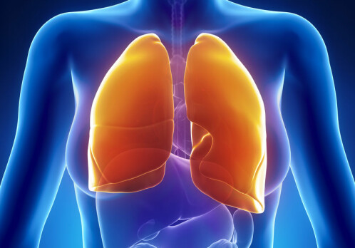 Declining lung function in menopausal women