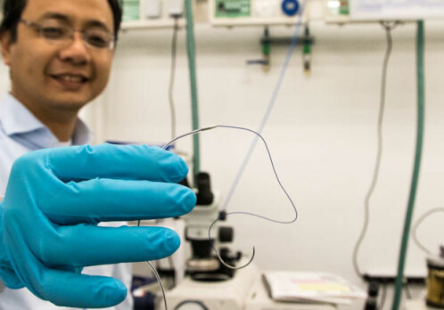 Heart monitoring using microsensors