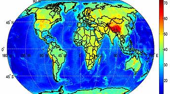 Tykkelsen av jordskorpa kartlagt