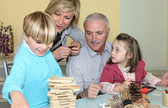 How grandparents fit into modern family life