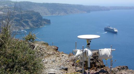 Santorini-vulkan kan få utbrudd