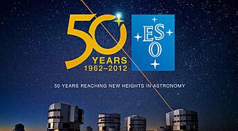 ESO feirer 50-årsjubileum