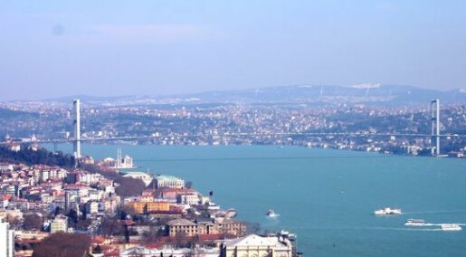 Istanbul nær jordskjelvsentrum