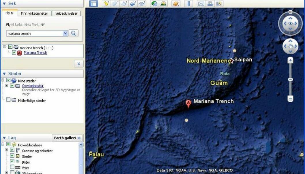 Google Earth blir Google Deep Sea