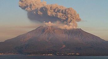 Jordskjelv får vulkaner til å synke