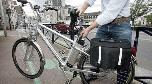 Forsker advarer mot el-sykler