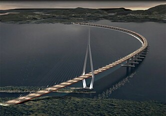 Securing the world's longest floating bridge against strong wind