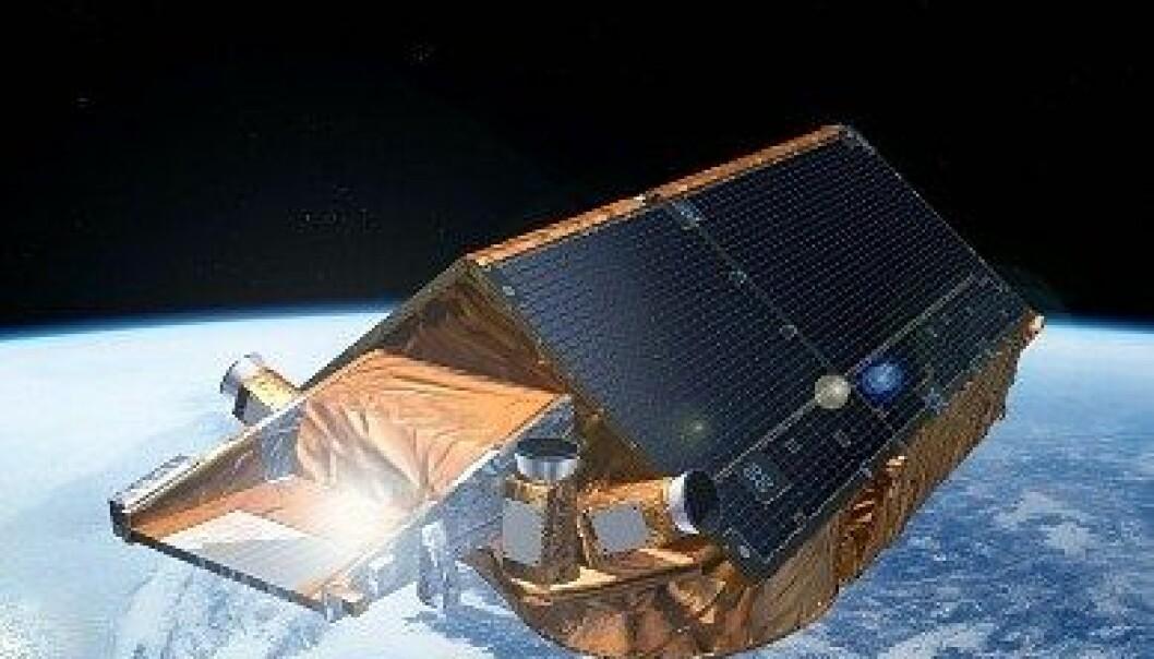 CryoSat.   ESA - K. Büchler