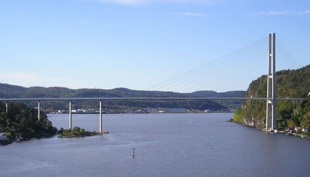 Grenland Bridge at Frier fjord. (Photo: Hallvard Straume/Wikimedia Commons)