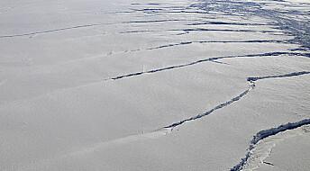 Vest-Antarktis revner i sømmene