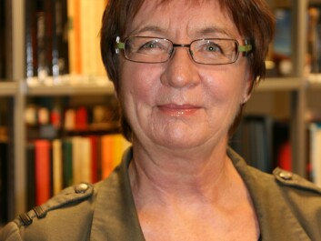 Svanhild Aabø, Professor in Library and Information Science at Oslo and Akershus University College of Applied Science.(Photo: Stig Nøra)