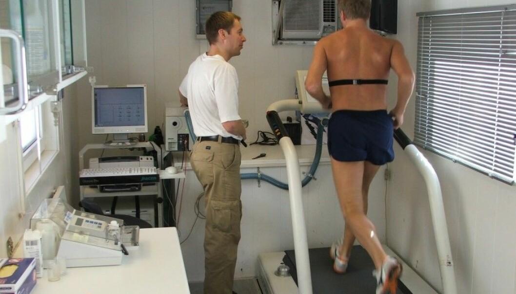 Anders Aandstad has tested 800 soldiers in The Home Guard. (Photo: Norwegian School of Sport Sciences)