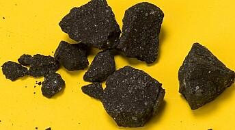 Forsker på rester av lynrask meteoritt