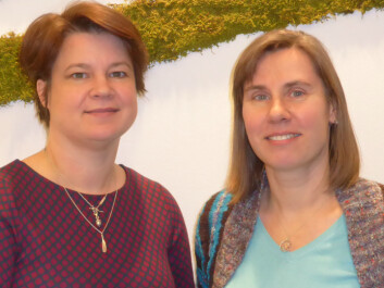 Senior researchers Dorte Herzke of NILU (left) and Claudia Halsband from Akvaplan-niva have conducted research on marine plastics for almost a decade. (Photo: Paul Renaud / Akvaplan-niva)