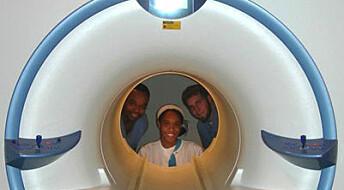 Ultralyd like bra som CT og MRI