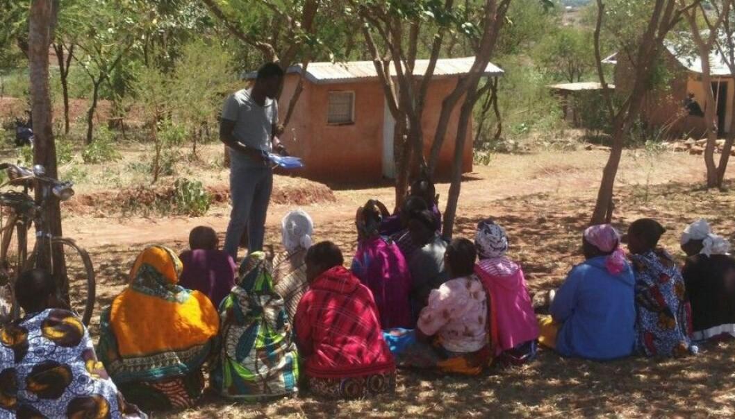 From the opinion survey among farmers in Tanzania. (Photo: Julius Nyalusi)