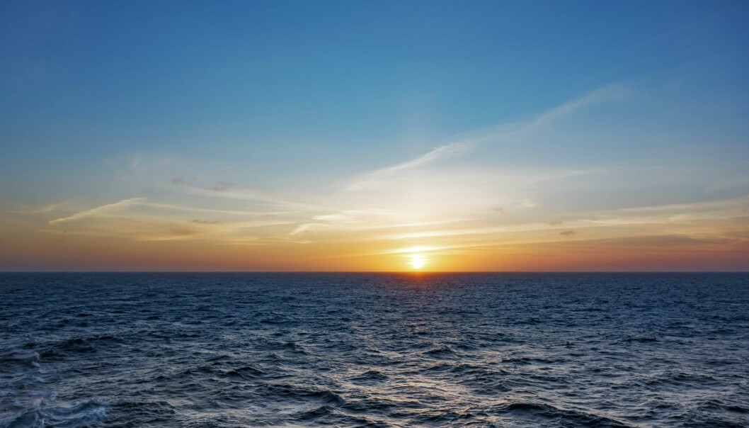 There is a constant exchange of CO2 between the atmosphere and  the ocean surface. The process were CO2 is transported to the deep ocean is regionally more limited: One of the key gateways from the surface to the deep ocean is in the North Atlantic. (Illustrative photo: Colourbox)