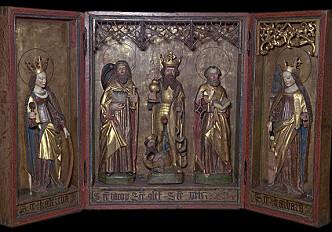 Research reveals origins of Norwegian altarpieces