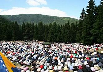Growing number of Muslim pilgrims in Europe