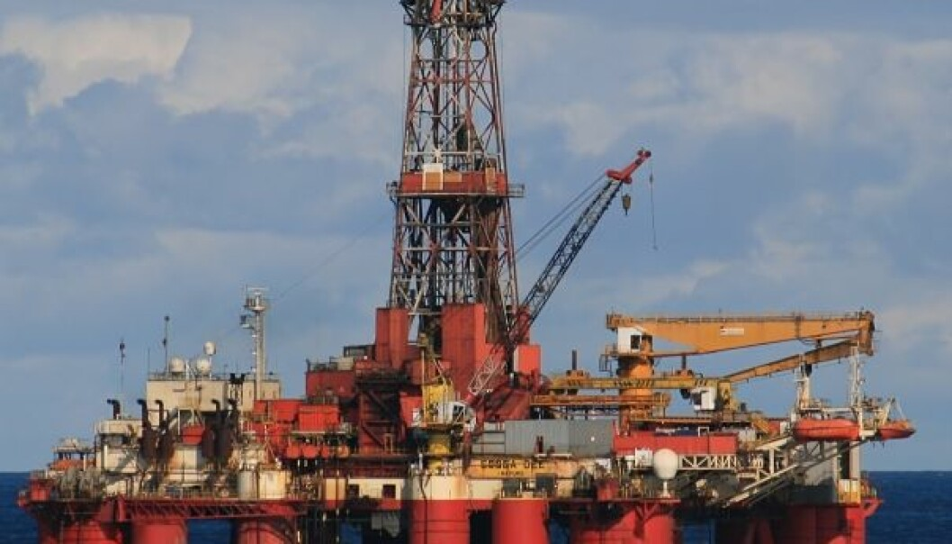 Noise levels are high in the drilling industry (Photo: Colourbox)