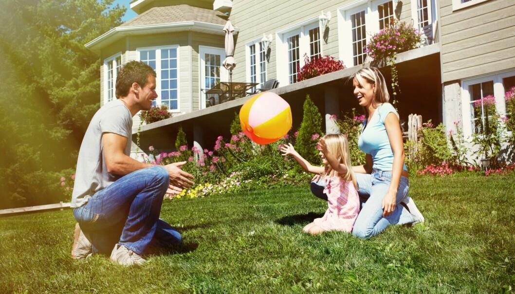 Hjemmet skal bidra mer til trivselen – og det er en oppgave for arkitektene. (Illustrasjonsfoto: Microstock)