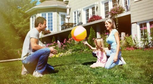 Hjemmet kan gjøre deg gladere