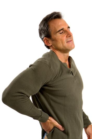 Ingen vil påstå at de blir sterkere av kroniske rygg- og nakkesmerter, angst, migrene eller diabetes. (Illustrasjonsfoto: Microstock)