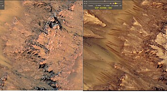 Forskerne er nesten sikre på hva stripene på Mars er for noe