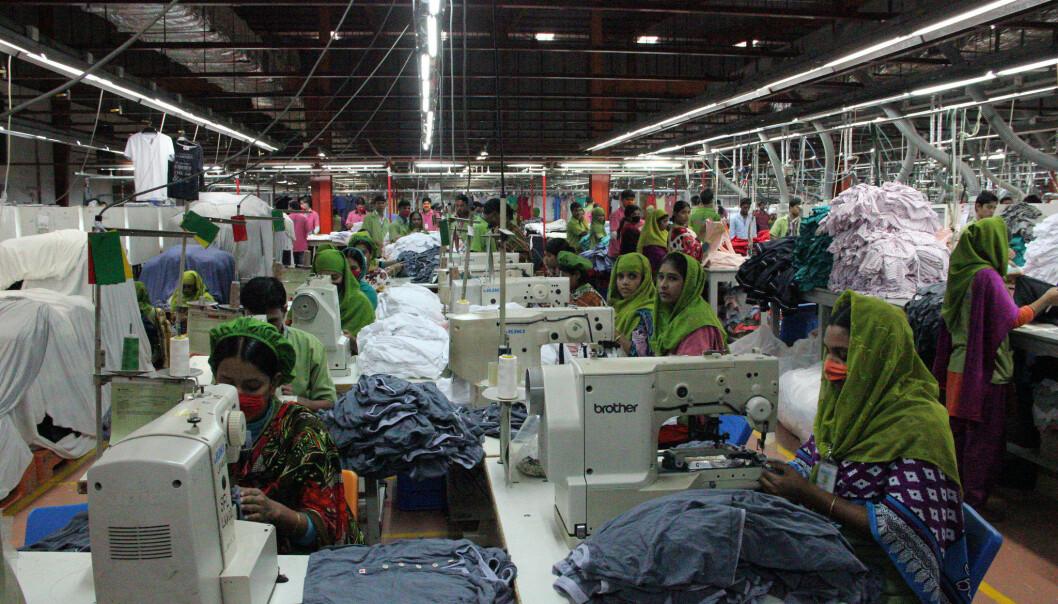 Klesfabrikk i Mymensingh, Bangladesh.  (Foto: NYU Stern BHR)