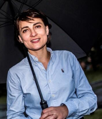 Ieva Martinkenaite er forskeren bak den nye studien av kunnskapsoverføring fra hovedkontoret i to multinasjonale selskaper til lokale forretningsenheter i de baltiske landene. (Foto: Torbjørn Brovold)
