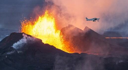 Vulkan slapp ut mer enn Europa