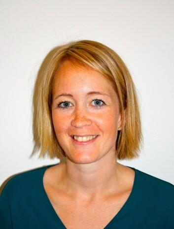 Kathrine Røe Redalen, postdoktor og fysiker ved Akerhus sykehus. (Foto: Ahus)