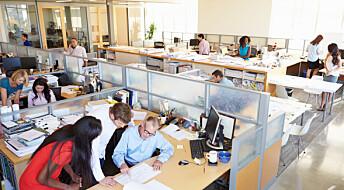 Snille blir mest forstyrret i åpne kontorlandskap