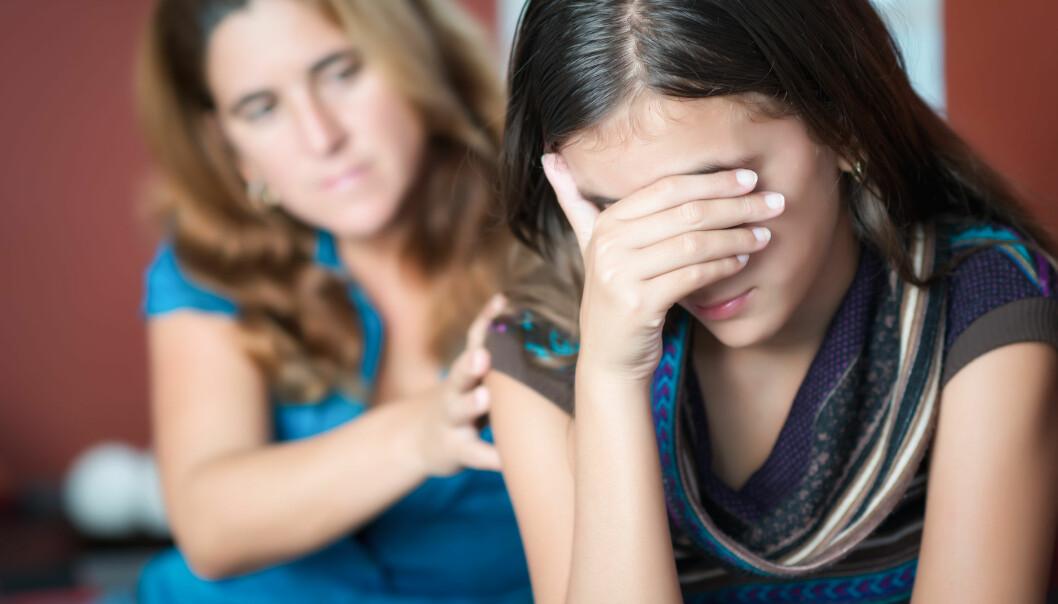 Ny terapi: Deprimerte unge blir behandlet med foreldrene