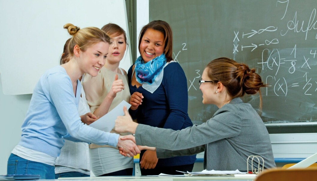 Det er opp til elevene hvordan, når og om de skal påvirke undervisningen. Det favoriserer de vennerike. (Illustrasjonsfoto: Microstock)