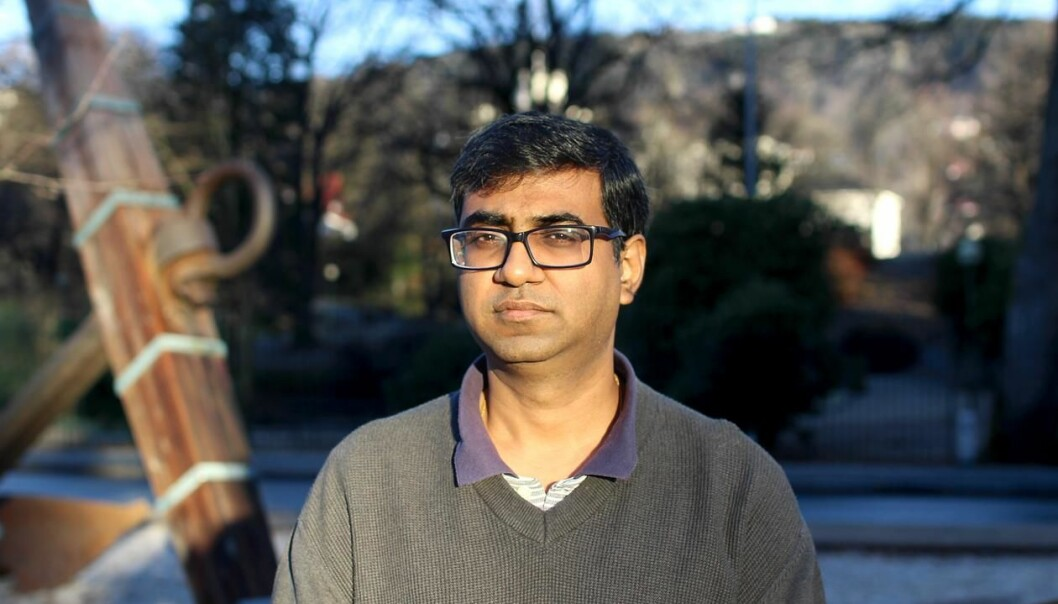 CLEANING UP: Funded by an ERC Consolidator Grant, Professor Saket Saurabh aims to make it easier to find valuable information in Big Data. (Photo: Jens H. Ådnanes, UiB)
