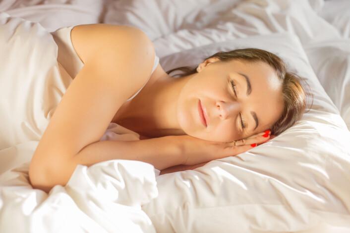 Etter 36 timer uten søvn vil stort sett alle oppleve å falle i en dyp, ikke-avbrutt søvn. (Illustrasjonsfoto: Microstock)