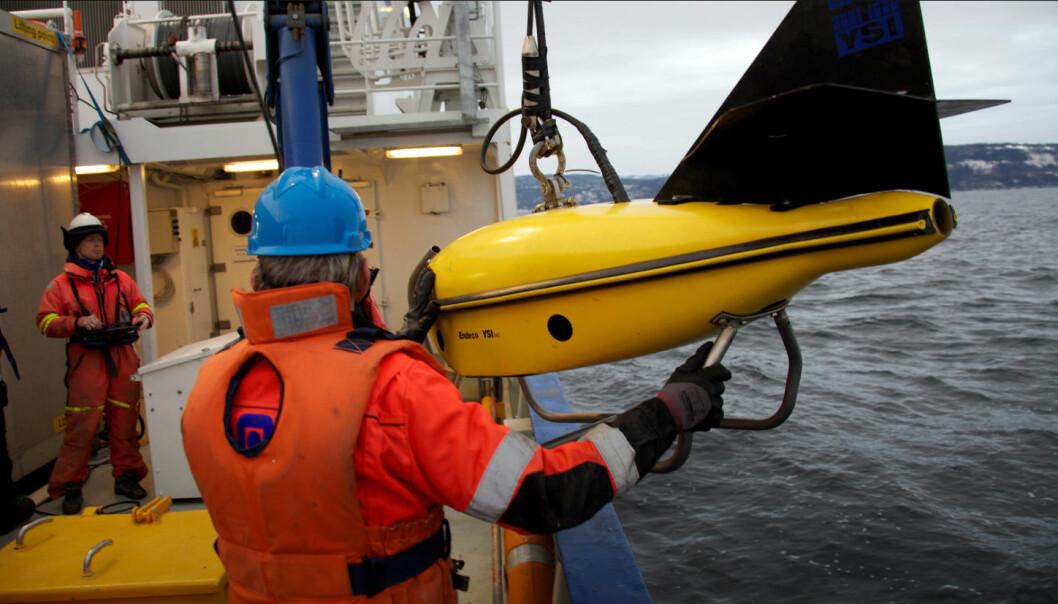 I fremtiden kan kanskje roboter erstatte dykkere i operasjoner på havbunnen. (Foto: Geir Johnsen/NTNU/AUR-lab)