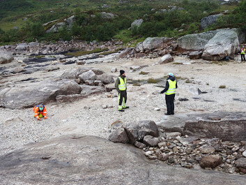 A short three-day stint in the field produced great results, including the discovery of a hitherto unknown stone-age settlement.